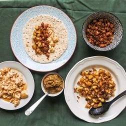 breakfast burrito prepared ingredieints