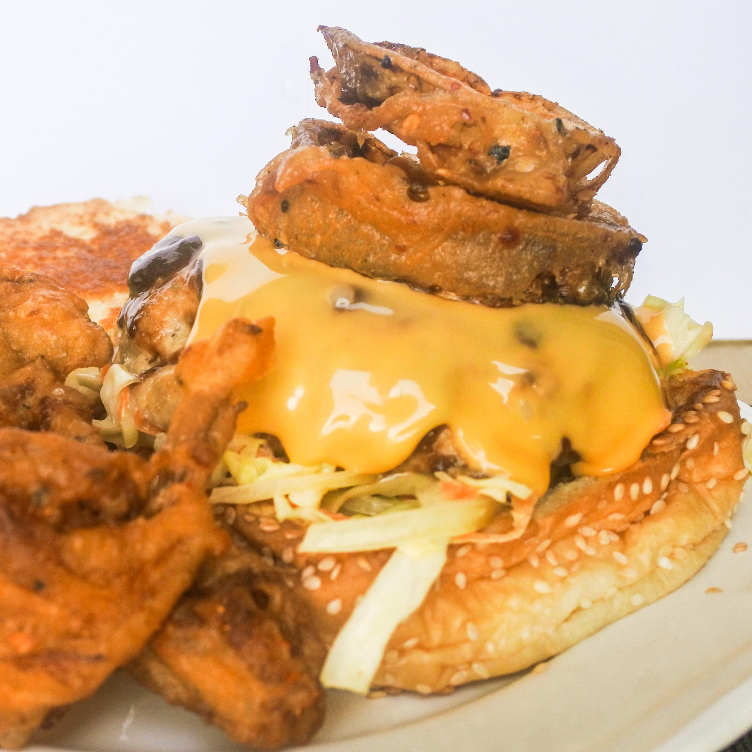 Armadillo Pork Burgers