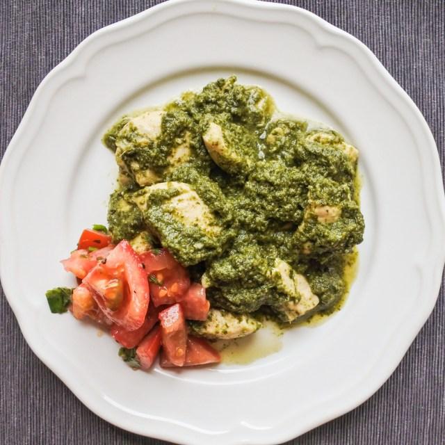 Cilantro Chicken Curry 8