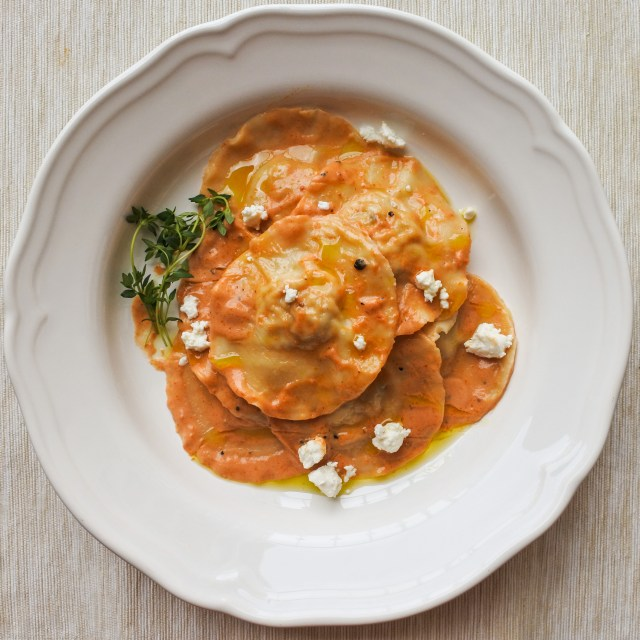 Chicken Ravioli with Sun-Dried Tomato Cream Sauce 9