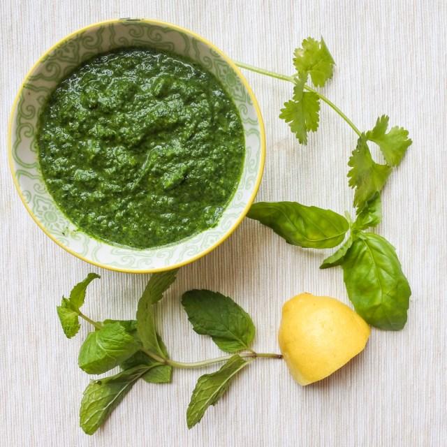 Fresh Herb Pesto 6