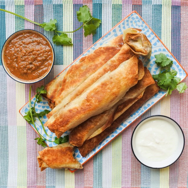 Bean and Cheese Crispy Burritos 2