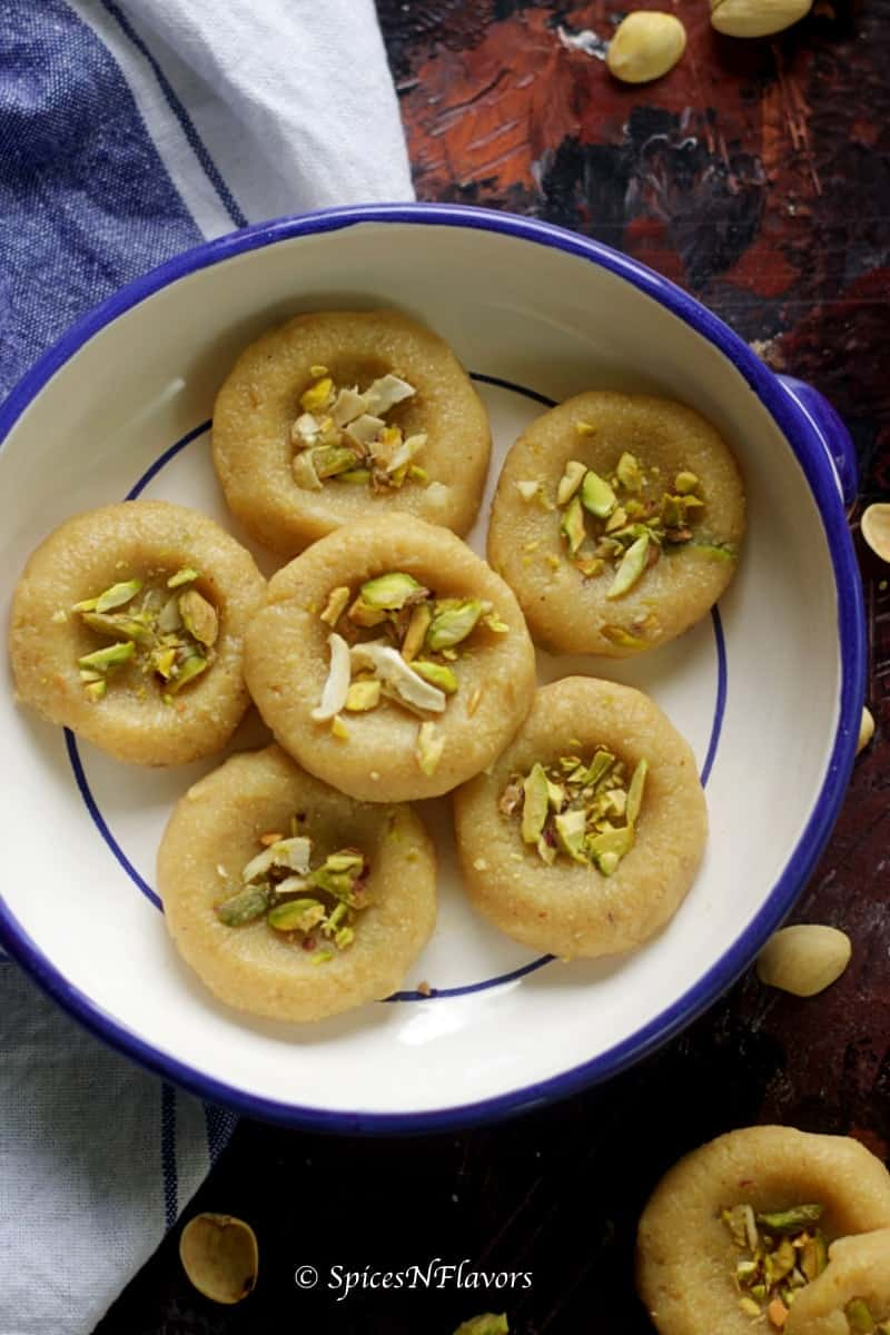 Butterscotch Peda Diwali Indian Sweet Spices N Flavors
