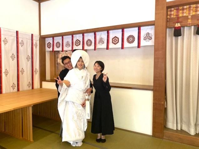 結婚式、神前式、十日恵比寿神社、神社婚、福岡結婚式、家族だけの結婚式、フリーウエディングプランナー福岡、ブライダルプランナー福岡