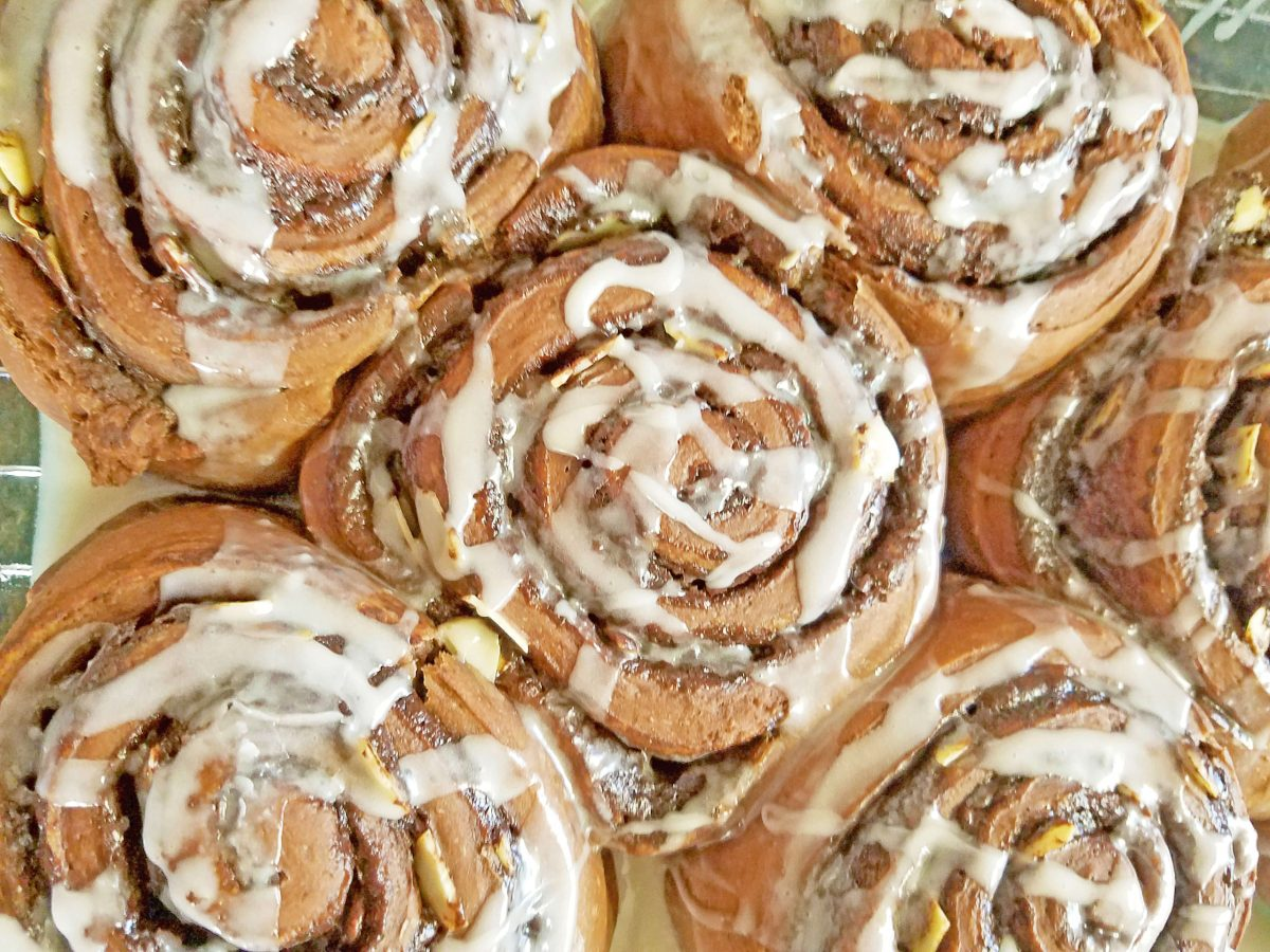 Cake Mix Sweet Rolls