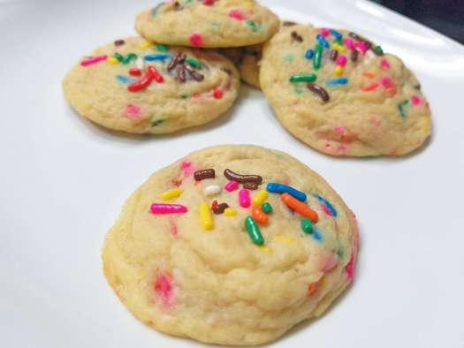 Cheesecake Sprinkle Cookies