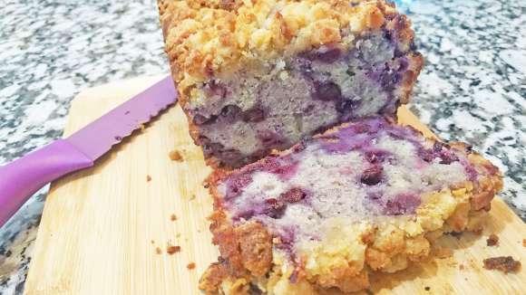 Blueberry Pie Quick Bread