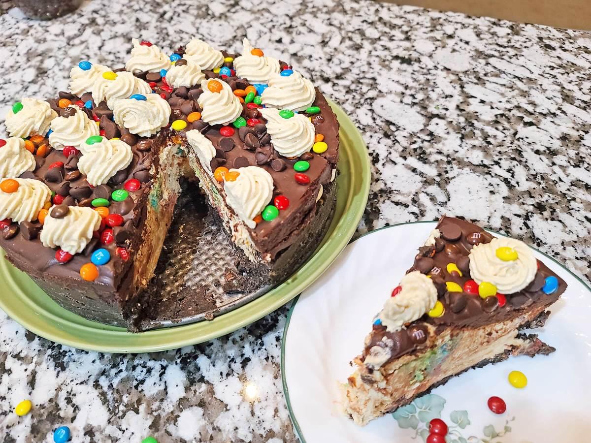 No-bake Chocolate Peanut Butter Pie