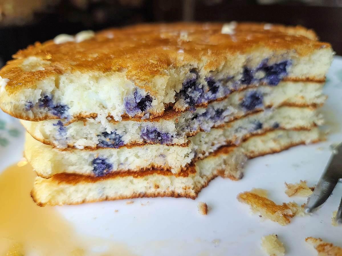 Muffin Mix Pancakes
