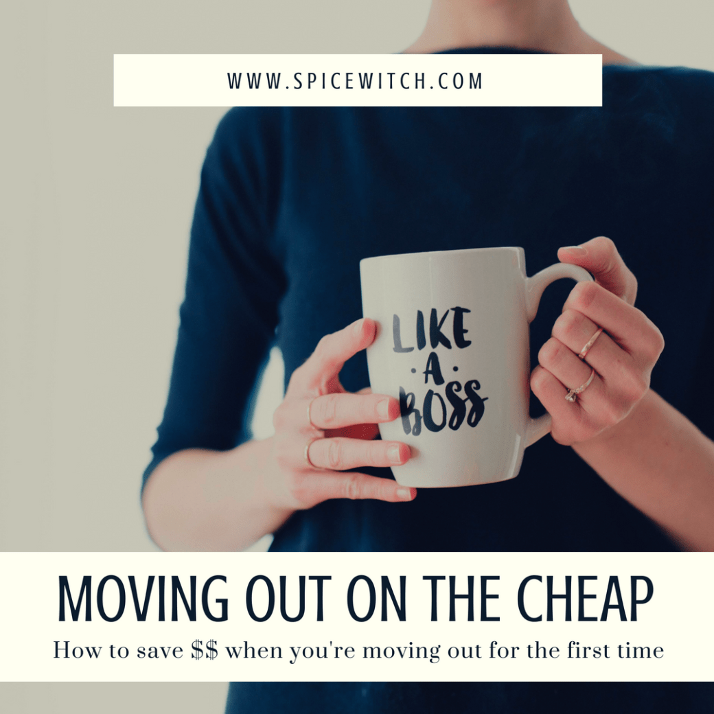 Moving Out on the Cheap