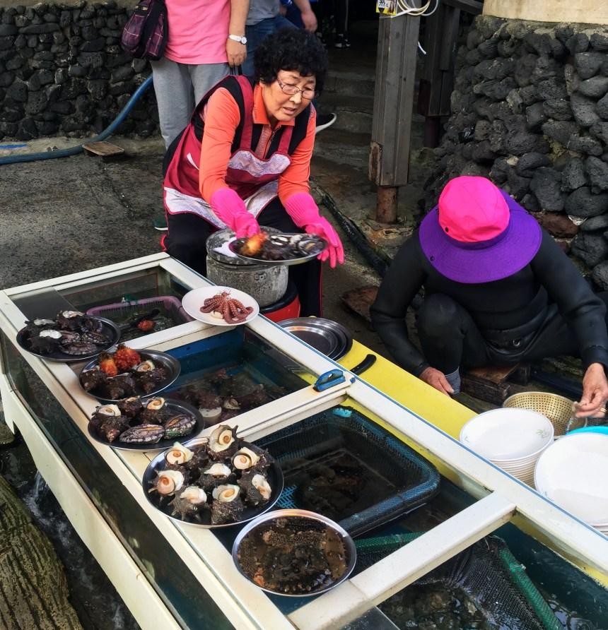 Jeju Sea woman