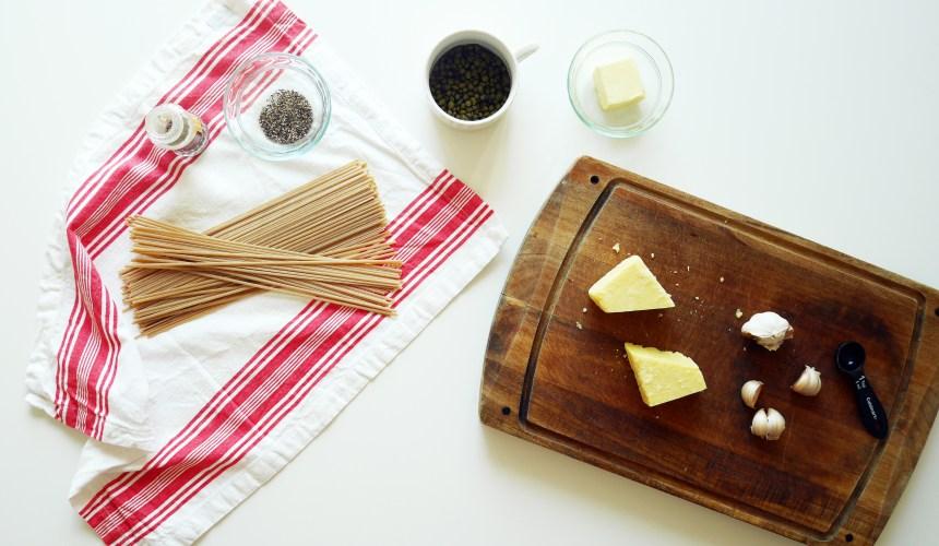 Garlic caper pasta 3