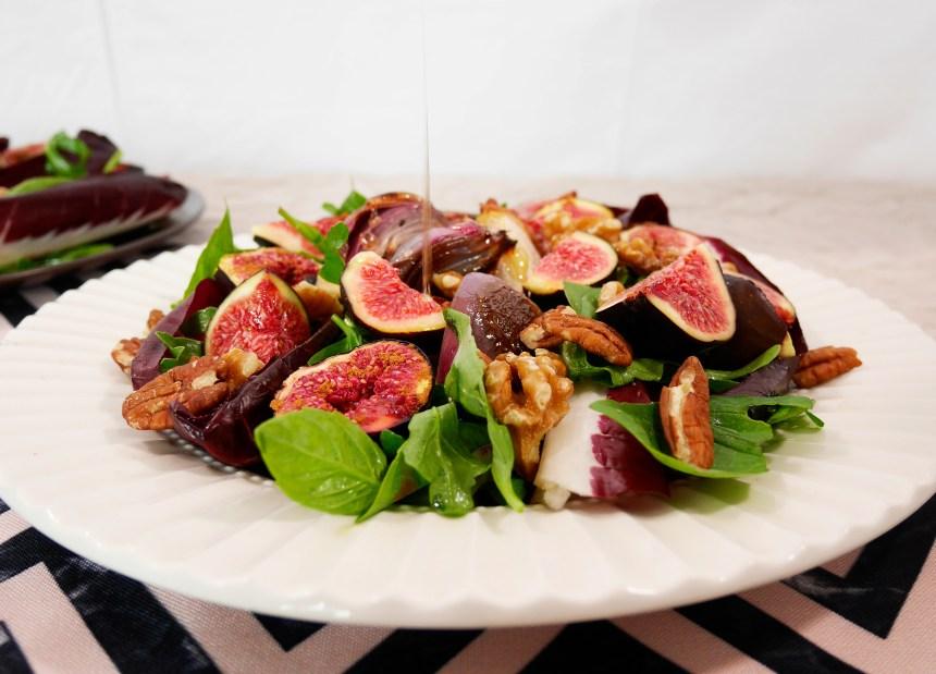 Best dinner party fig salad