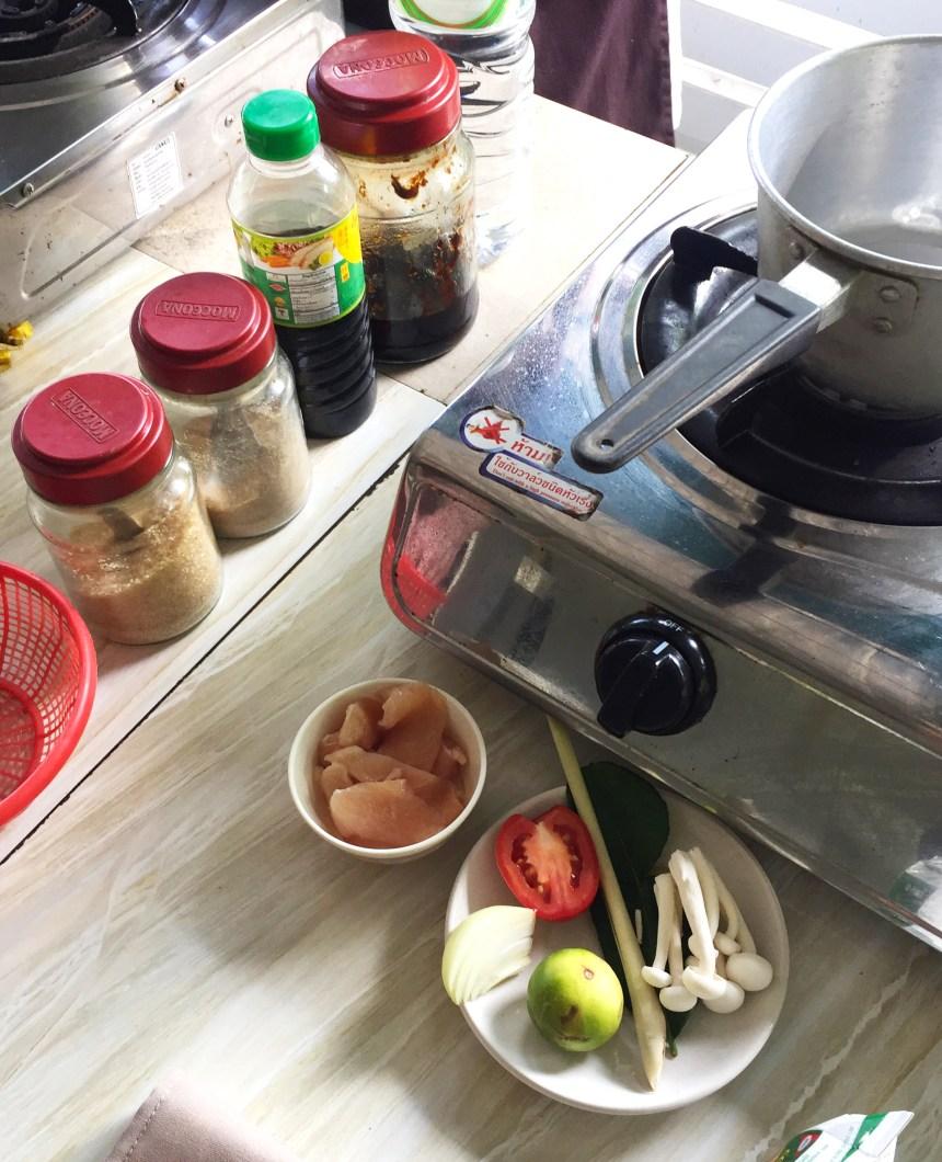 Thai food lime