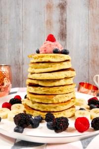 gluten free banana pancake