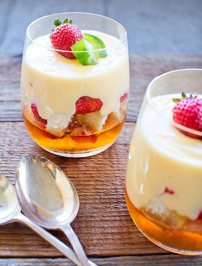 Boozy Desserts - Pimms Trifle