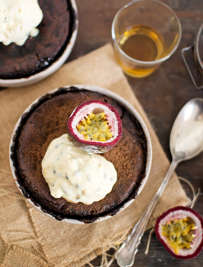 Spicyicecream Easter Recipes - Chocolate Whisky Pudding
