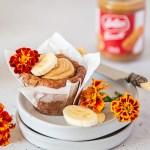 Banana Biscoff Cheesecake Muffins