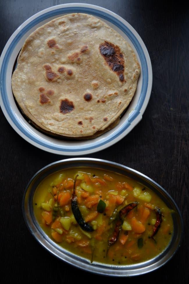 carrot potato curry