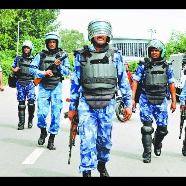 Image result for दोनों वीवीआईपी की सुरक्षा व्यवस्था के मद्देनजर 8500 से अधिक पुलिस तैनात