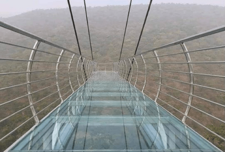 Glass Skywalk Bridge Built In Bihar, People Are Coming To Enjoy Nature Adventure