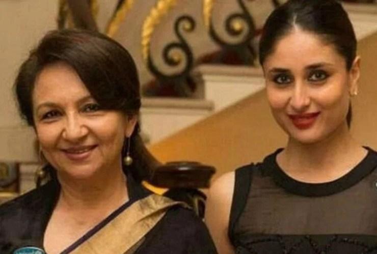 शर्मिला टैगोर और करीना कपूर खान
