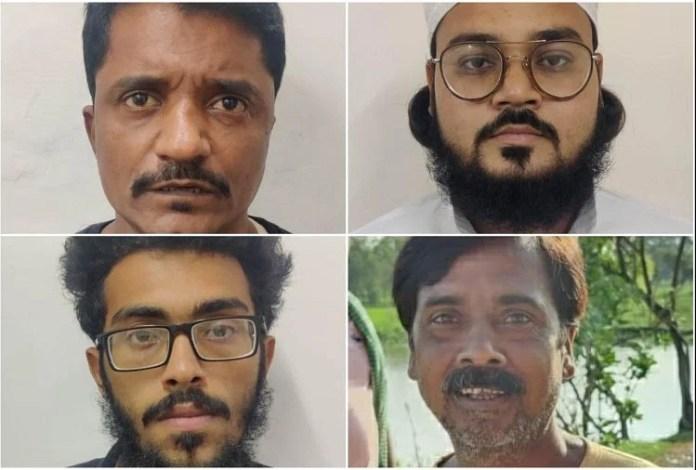 दिल्ली स्पेशल सेल ने आतंकवादियों को किया गिरफ्तार