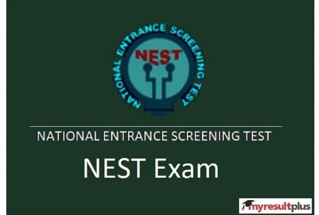 NEST 2021: नेशनल एंट्रेंस स्क्रीनिंग टेस्ट के लिए आवेदन करने के लिए अंतिम कुछ घंटे शेष, विस्तृत जानकारी यहाँ
