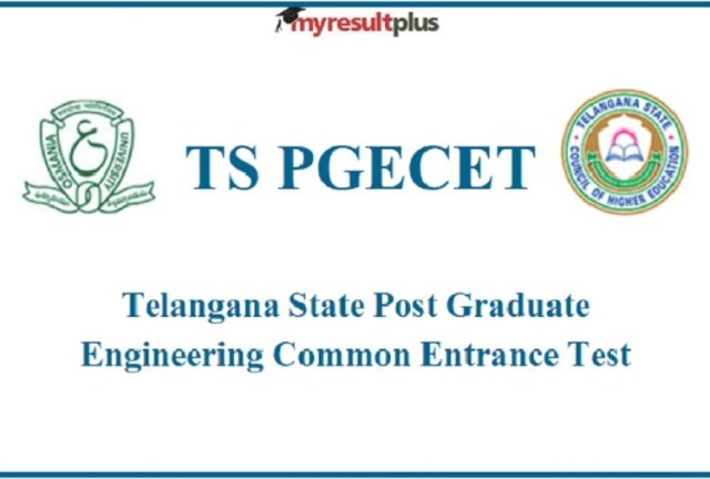 TS PGECET 2021 hall ticket released, Exam from August 11