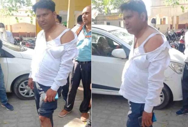 सदर तहसीलदार अरविंद कुमार पर हमले के बाद