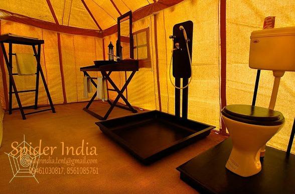 Spider-India-Camping-tent-Bathroom