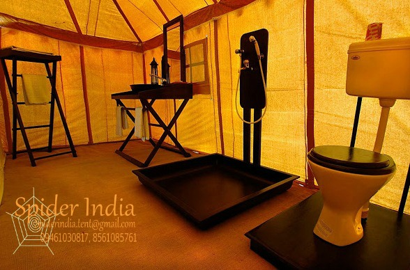 Spider-India-Camping-tent-Bathroom