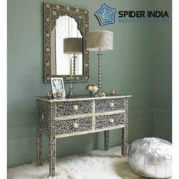 bone-inlay-4-drawer-dresser-with-miror