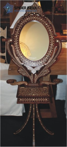 teak-bone-inlay-standing-vanity-mirror