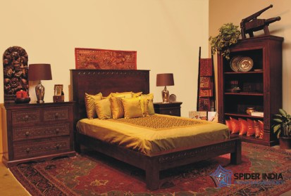 CONTEMPORARY INDIAN BED