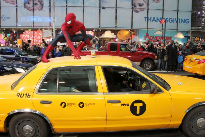 Spider-Man at GMA