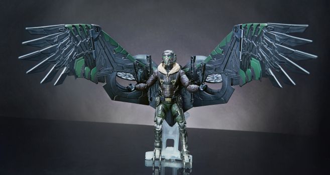 MARVEL SPIDER-MAN HOMECOMING LEGENDS SERIES 6-INCH Figure Assortment (Vulture) - Build A Figure 1