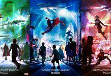 Disney California Adventure - Avengers Plans Posters