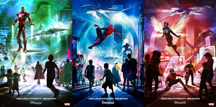 Disney California Adventure - Avengers Plans Posters
