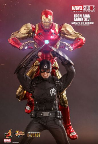 Hot Toys - Iron Man Mark XLVI - Concept Ver - 04