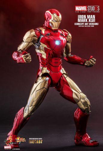 Hot Toys - Iron Man Mark XLVI - Concept Ver - 07