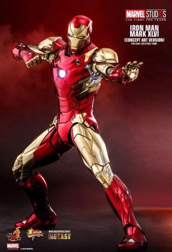 Hot Toys - Iron Man Mark XLVI - Concept Ver - 10