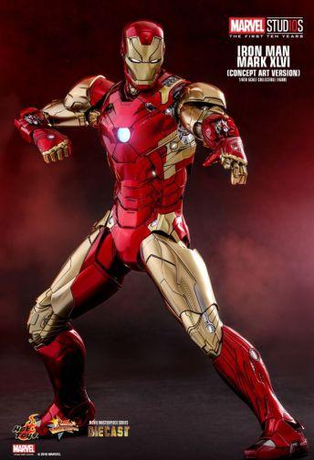 Hot Toys - Iron Man Mark XLVI - Concept Ver - 12