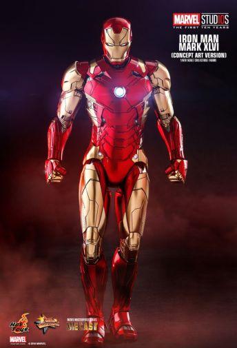 Hot Toys - Iron Man Mark XLVI - Concept Ver - 17