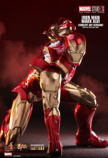 Hot Toys - Iron Man Mark XLVI - Concept Ver - 19