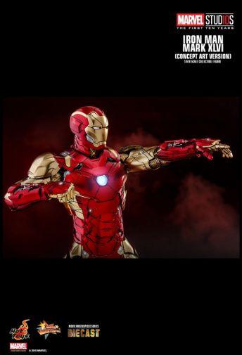 Hot Toys - Iron Man Mark XLVI - Concept Ver - 20