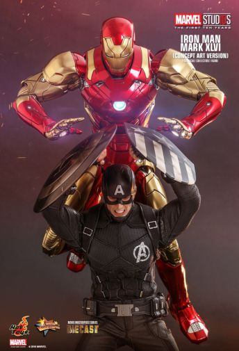 Hot Toys - Iron Man Mark XLVI - Concept Ver - 24