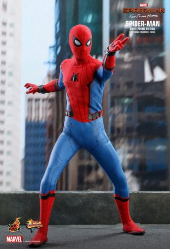 Hot Toys - Spider-Man Far From Home - Spider-Man Movie Promo Edition - 07