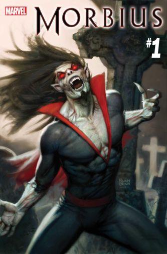 Marvel Comics - Morbius - issue 01 - Cover