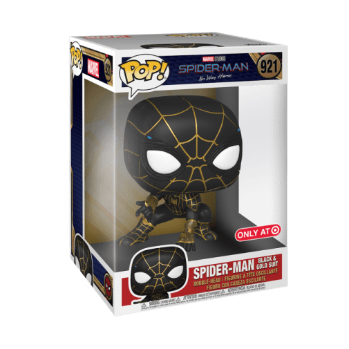 Funko - Spider-Man No Way Home - Spider-Man Black and Gold Suit - Announcement - 01